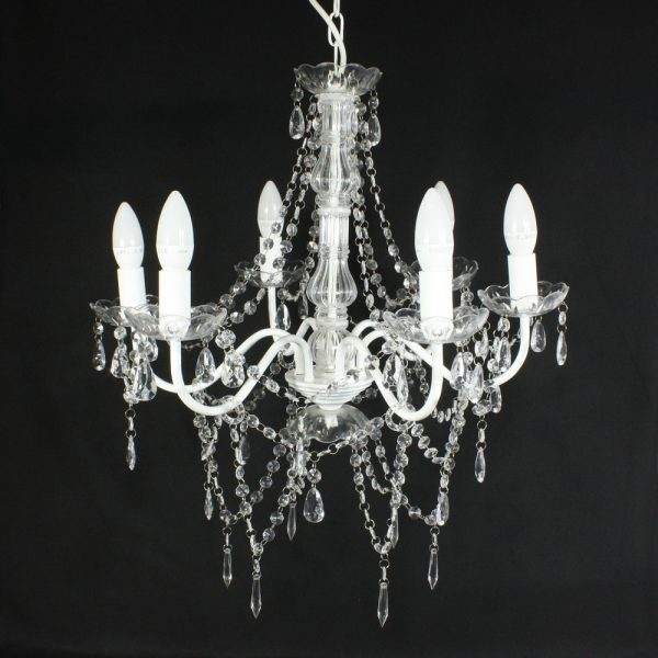 chandelier from mia party hire