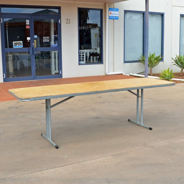 trestle 2.4 steel from party hire