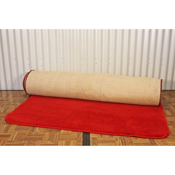 carpet red from party hire