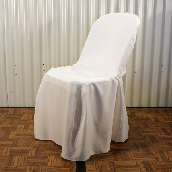 chair cover front from mia party hire