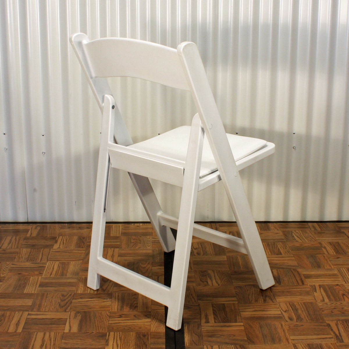 Pleasing Folding Chair White Evergreenethics Interior Chair Design Evergreenethicsorg