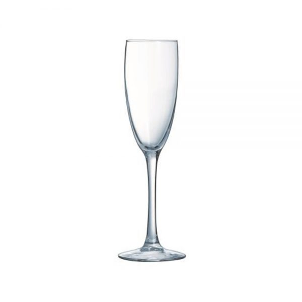 champagne flute 170ml from mia party hire