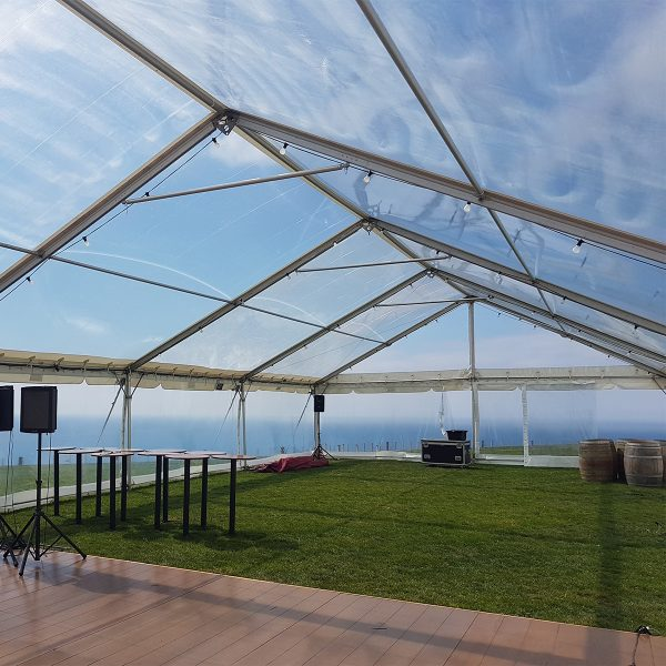 mia party hire clear marquee wedding events