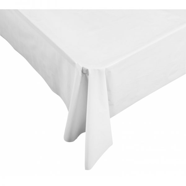 disposable tablecloth rectangle from party hire