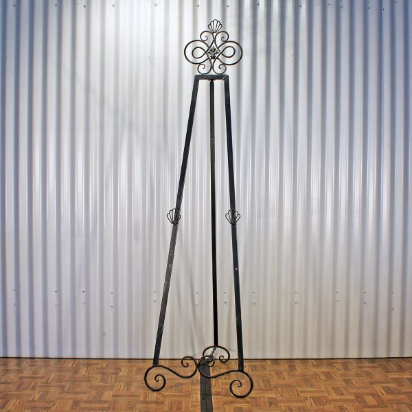 easel metal from party hire