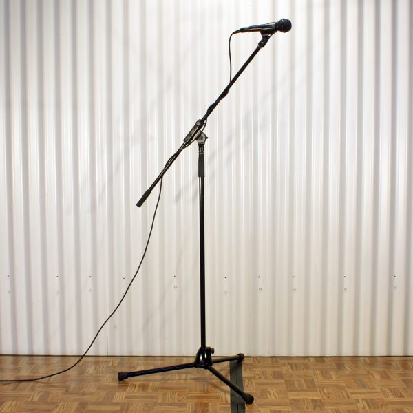 microphone stand from party hire