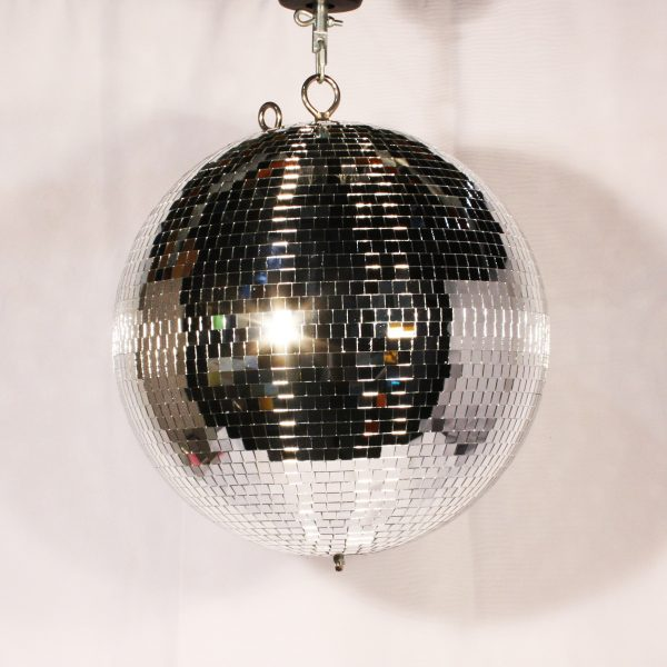 mirror ball from party hire
