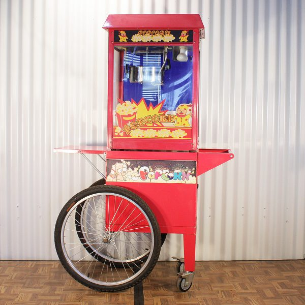 popcorn cart from party hire