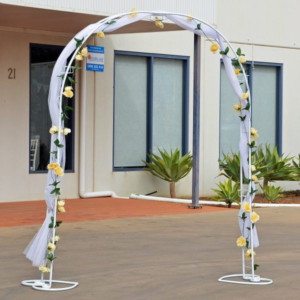 round arbor from mia party hire