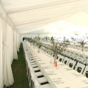 Silk Lining Marquee