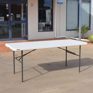 Trestle Table 1.8m Plastic