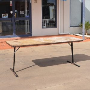 Trestle Table 1.8m Steel