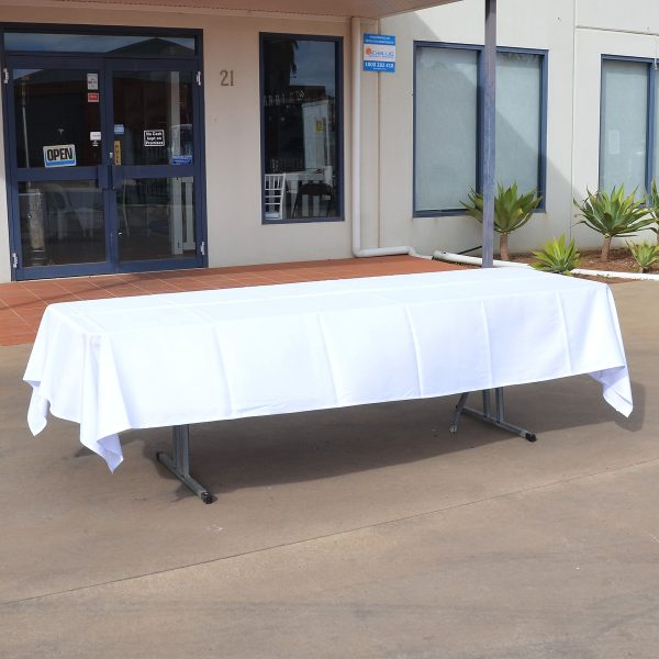 trestle cloth 3m from mia party hire