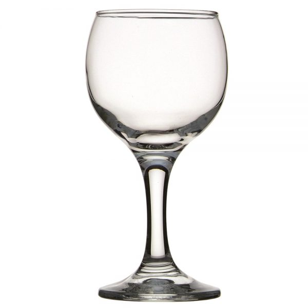 wine glass 260ml from mia party hire