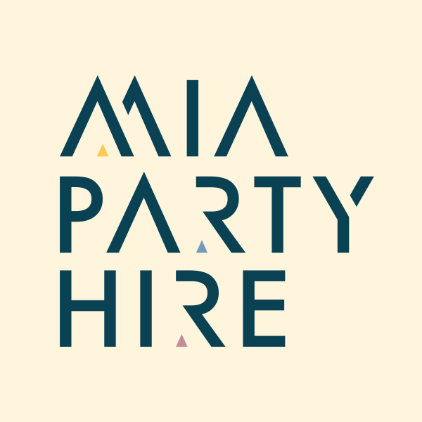 mia party hire logo
