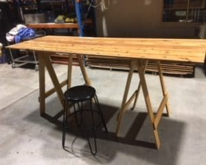 Timber Bar Tables