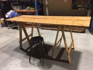 Timber Bar Tables