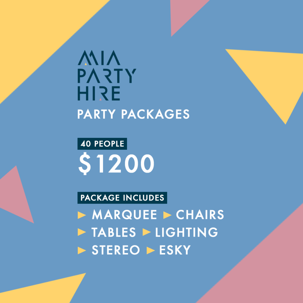 Party Packages -