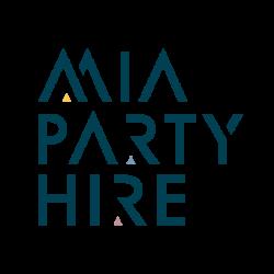 mia party hire logo